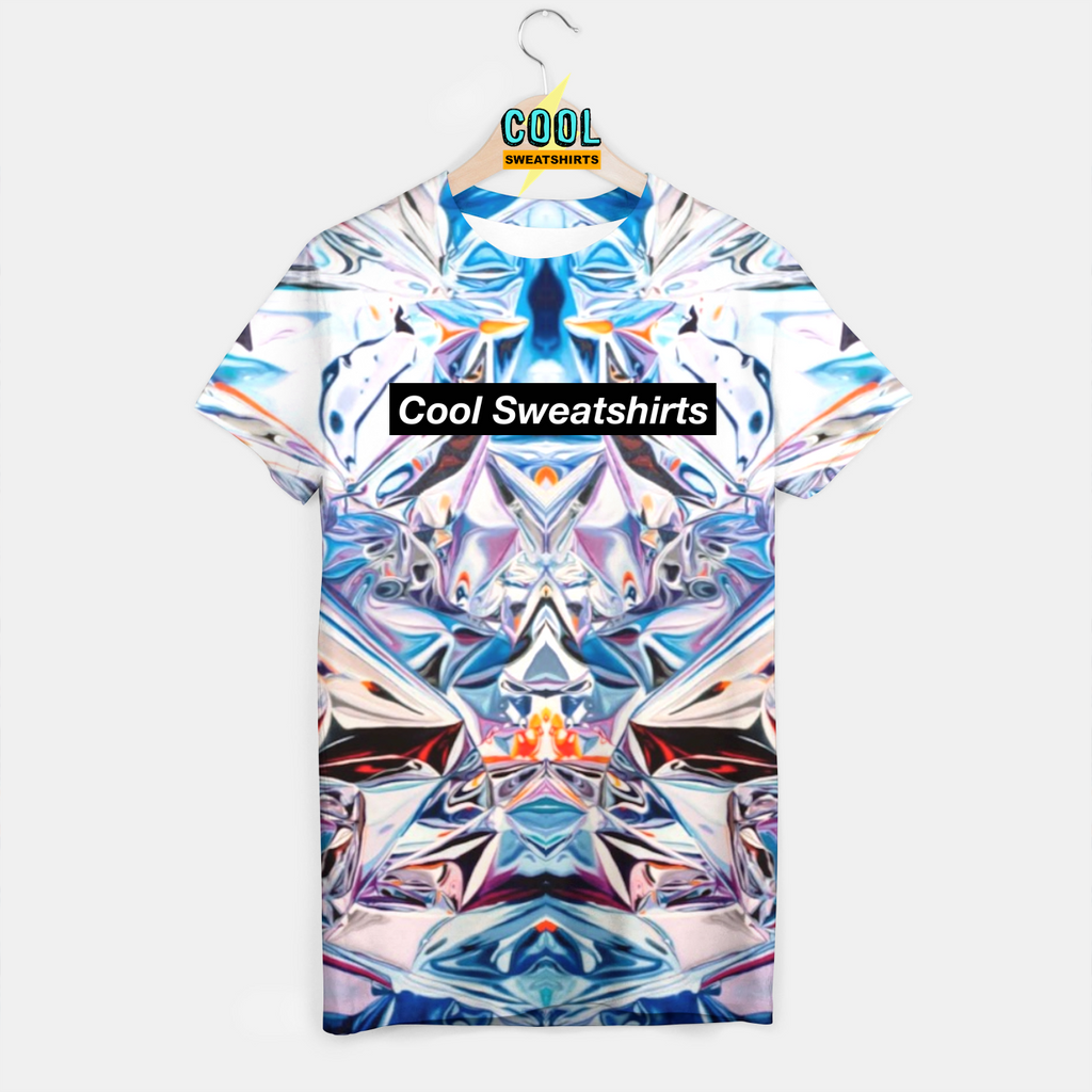 Cool Sweatshirts for men & women: Hey Holographic Shirt, Colorful Colors, EDM, Rave, Ugly Christmas Sweaters, Mr Gugu & Miss Go HypeBeast, Sexy Sweaters, sexysweaters
