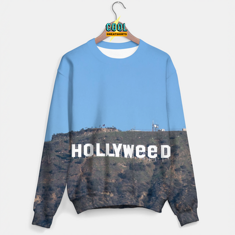 Cool Sweatshirts for men & women: Hollywood Weed Marijuana Sweater, EDM, Rave, Ugly Christmas Sweaters, Mr Gugu & Miss Go HypeBeast, Sexy Sweaters, sexysweaters