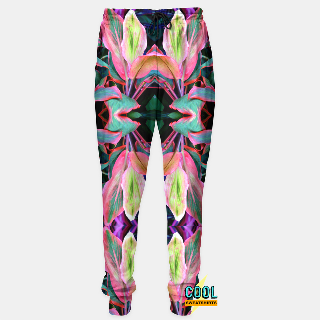 Cool Sweatshirts for men & women: Horticultural Joggers Sweatpants Leaves Plants Flowers Nature, EDM, Rave, Ugly Christmas Sweaters, Mr Gugu & Miss Go HypeBeast, Sexy Sweaters, sexysweaters