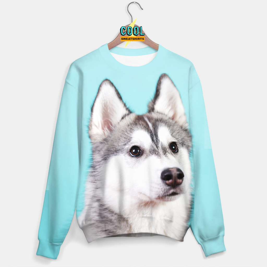 Cool Sweatshirts for men & women: Husky Wolf Sweater, SexySweaters, Sexy Sweaters, EDM, Rave, Ugly Christmas Sweaters, Mr. Gugu & Miss Go, HypeBeast