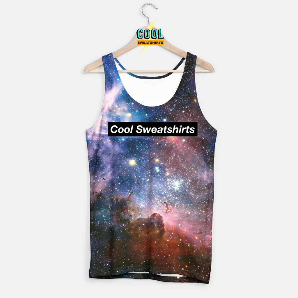 Cool Sweatshirts for men & women: Into the Galaxy Tank Nebula Space Cosmos, SexySweaters, Sexy Sweaters, EDM, Rave, Ugly Christmas Sweaters, Mr. Gugu & Miss Go, HypeBeast