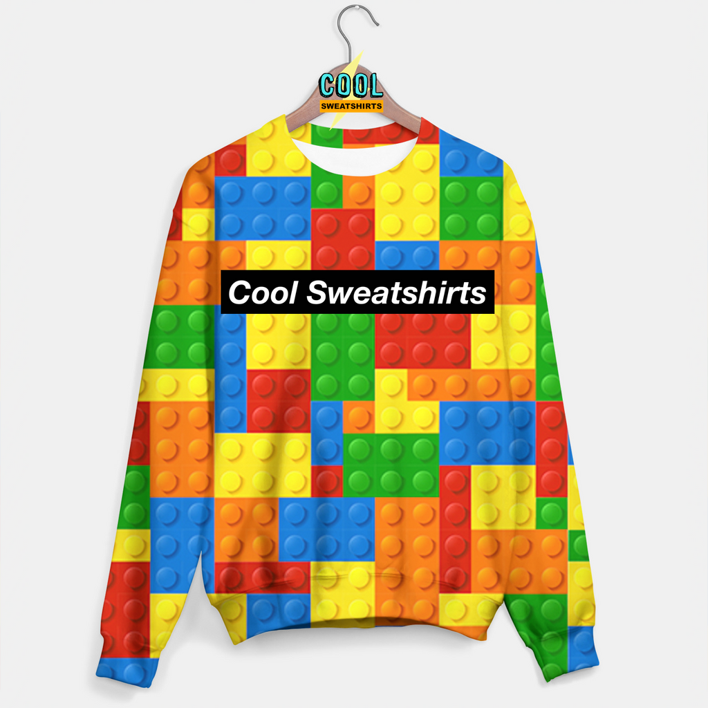 Cool Sweatshirts: Lego Sweater Brick Art, Festivals, EDM, Artists
