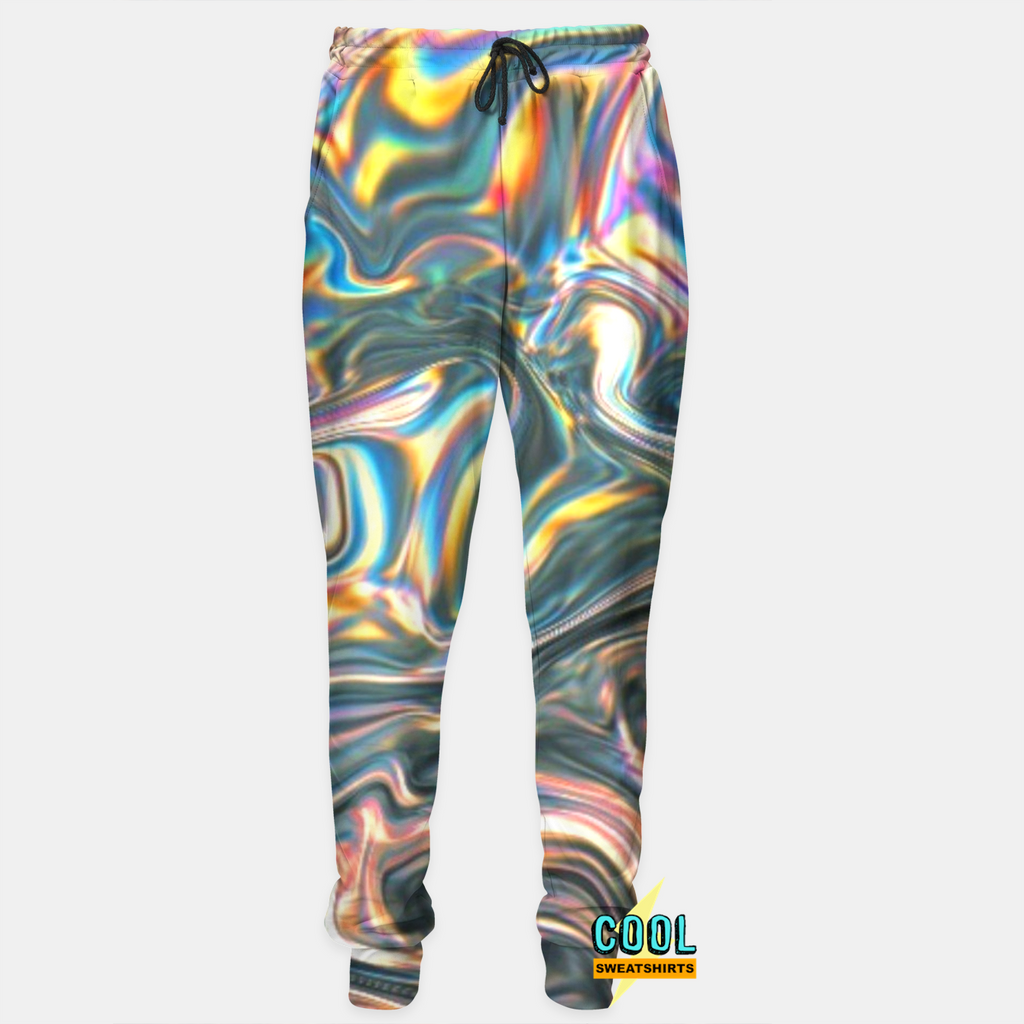 Cool Sweatshirts: My Holographic Joggers Molly, MDMA, Rave, EDM, Festivals, Party, Drugs
