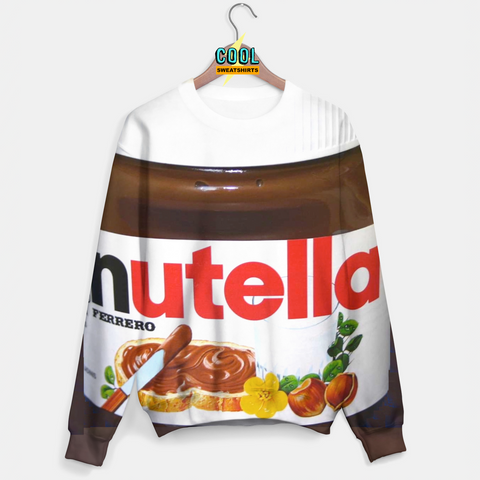 Cool Sweatshirts: Nutella Sweater Molly, MDMA, Rave, EDM, Festivals, Party, Drugs