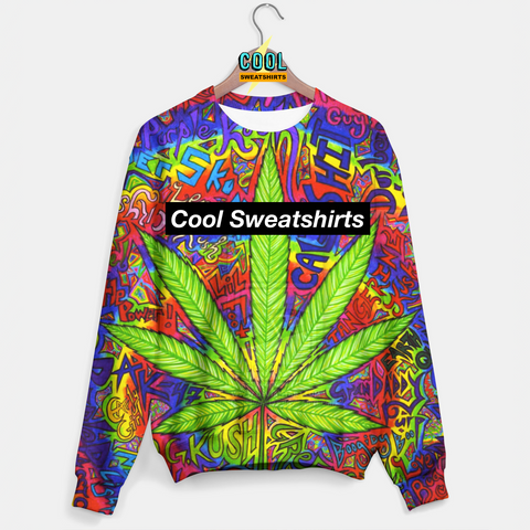 Cool Sweatshirts: OG Kush Weed Sweater Celebrity Rave Festival EDM