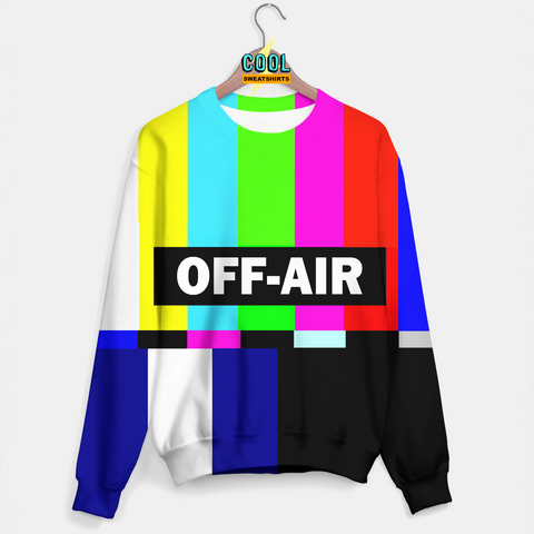 Cool Sweatshirts: Off Air Sweater Molly, MDMA, Rave, EDM, Festivals, Party, Drugs