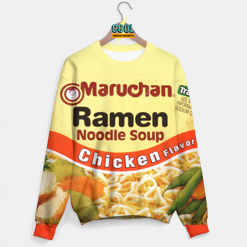 cool Sweatshirts: Ramen Sweater for Rave EDM Music Festivals