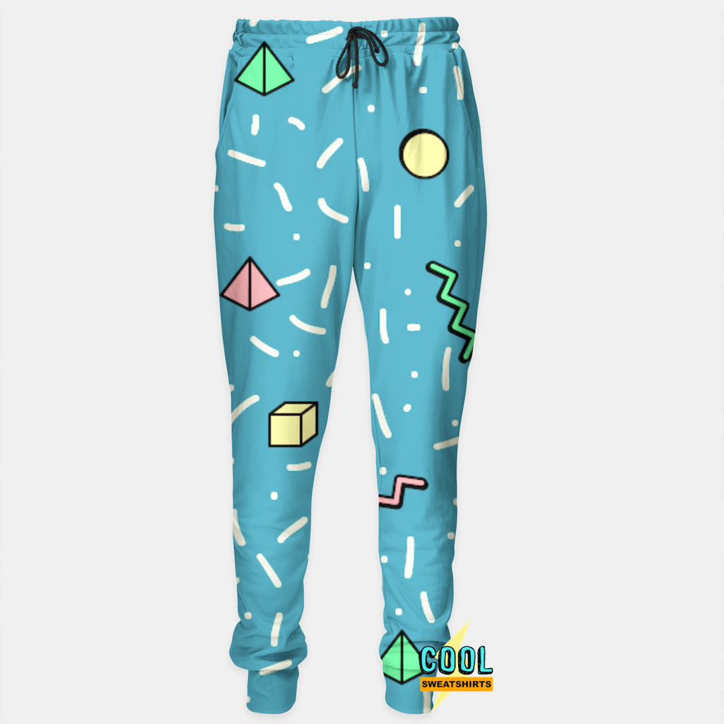 Cool Sweatshirts: Shapes Joggers