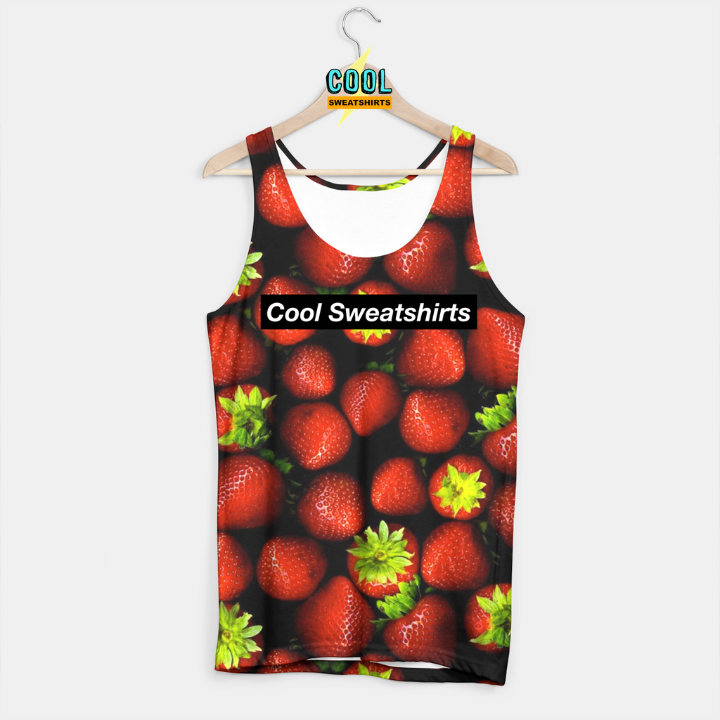 Cool Sweatshirts: Strawberries Tank