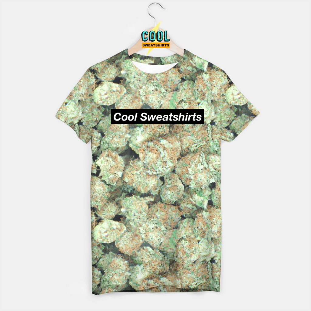 Cool Sweatshirts: Marijuana Weed Nuggets Shirt