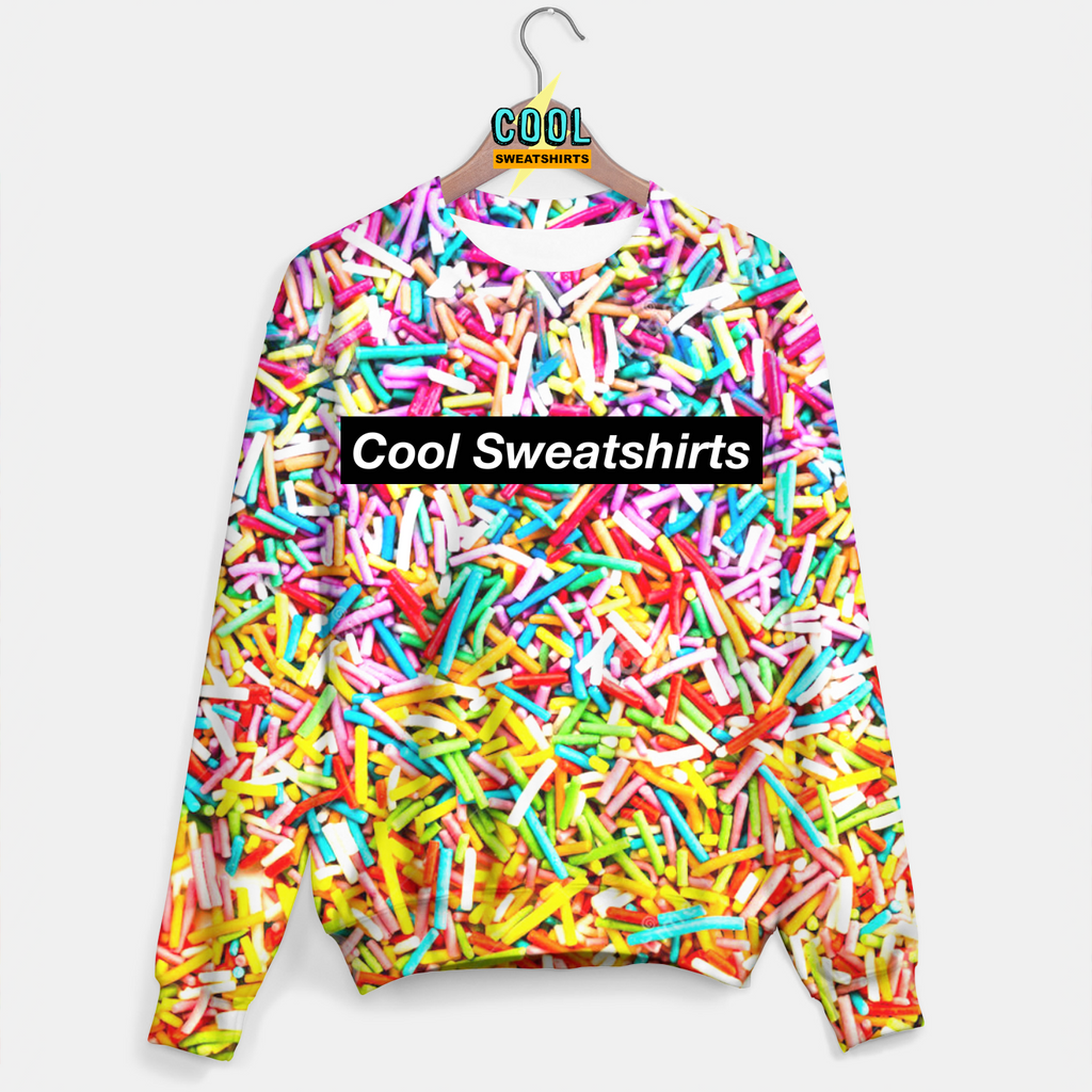 Cool Sweatshirts: Sprinkles Everywhere Sweater