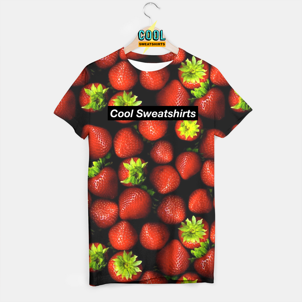 Cool Sweatshirts: Strawberries Shirt