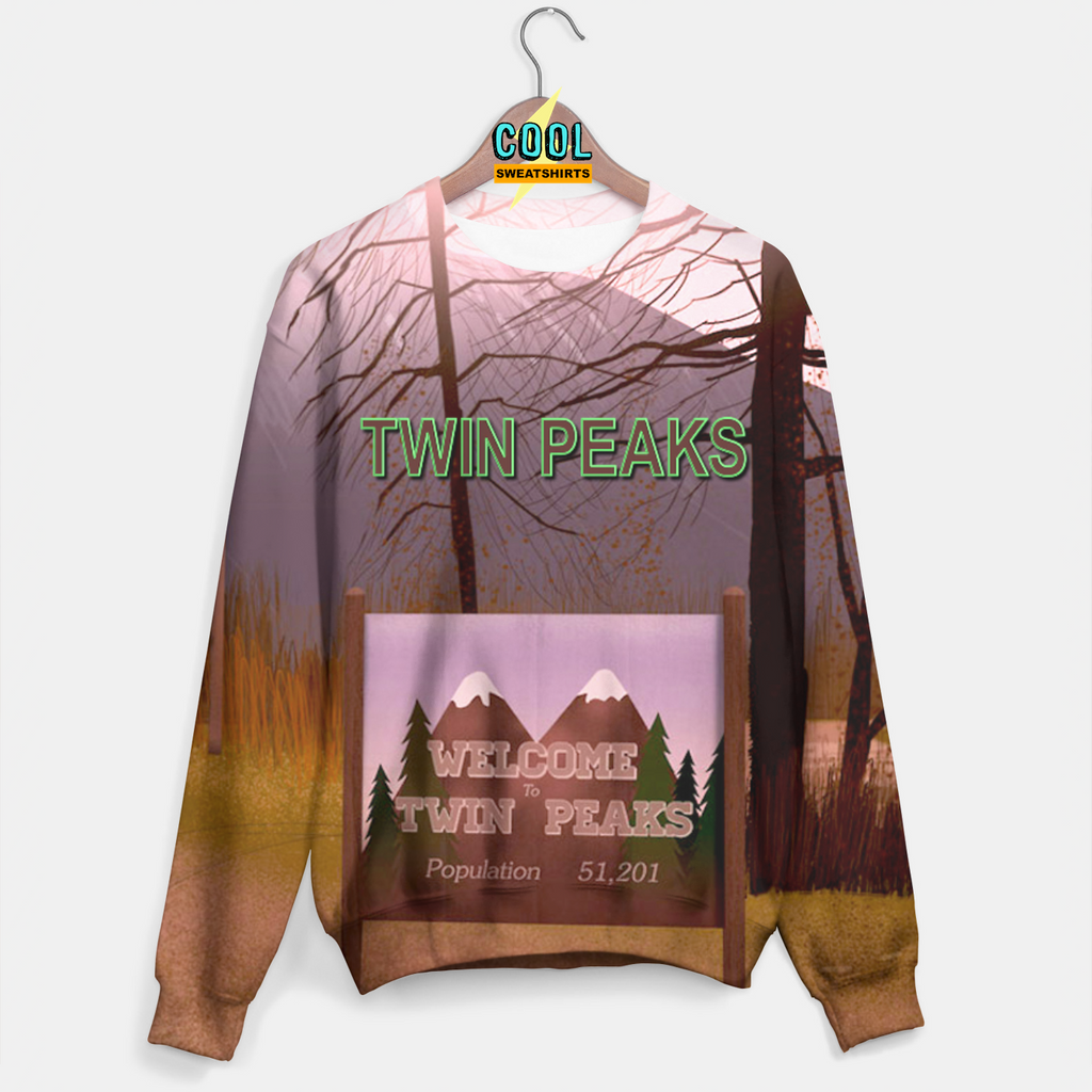 Cool Sweatshirts: Twin Peaks Sweater