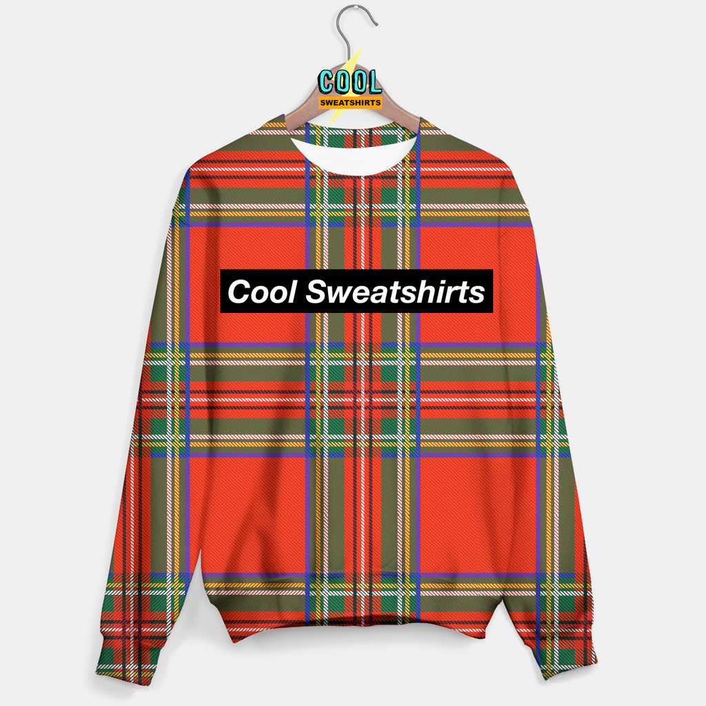 Cool Sweatshirts: Very Tartan Sweater Plaid Scottish