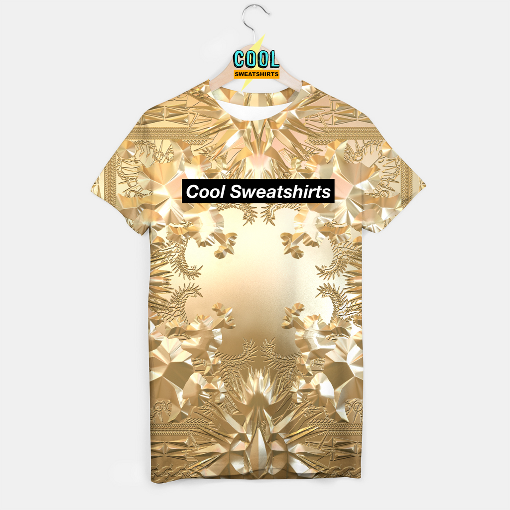 Cool Sweatshirts: Watch The Throne Gold Shirt Kanye Yeezy West Jay-Z Hova