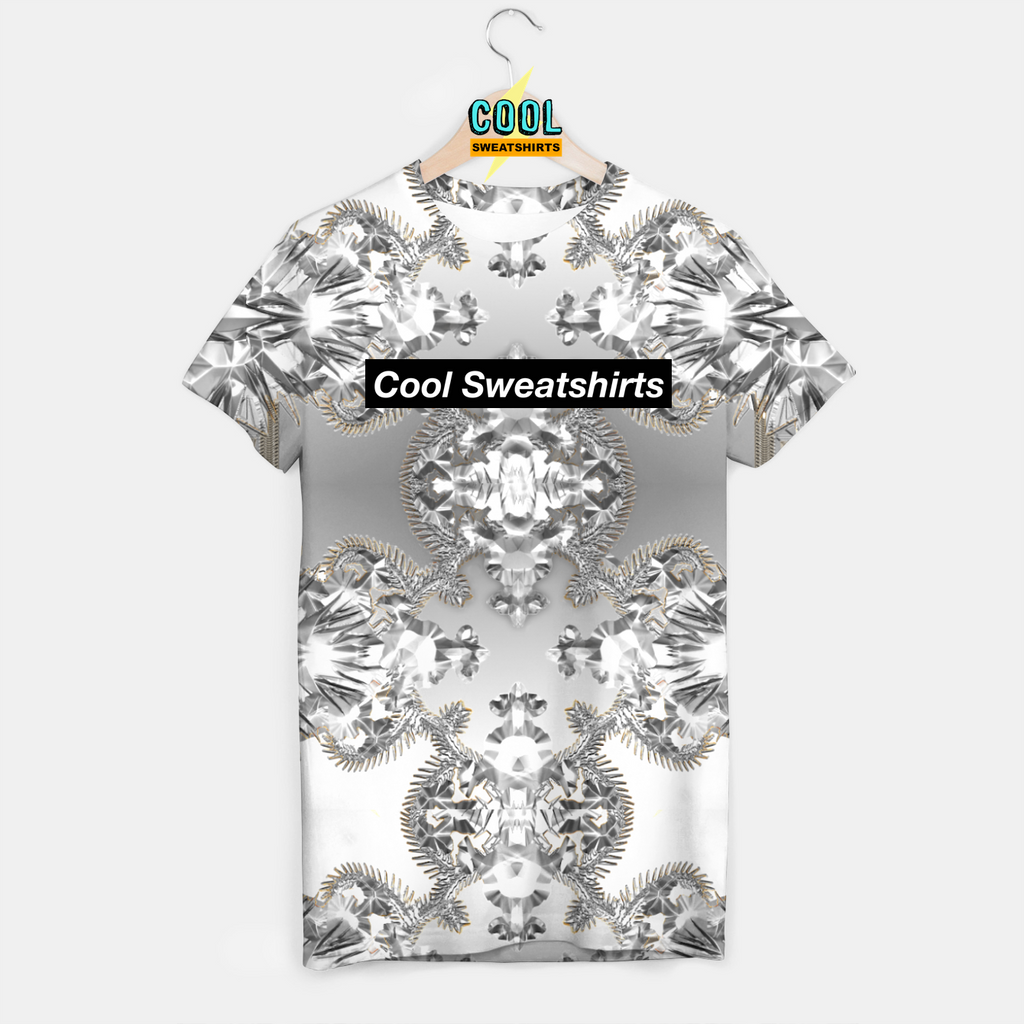 Cool Sweatshirts: Watch The Throne Silver Shirt Kanye Yeezy West Jay-Z Hova