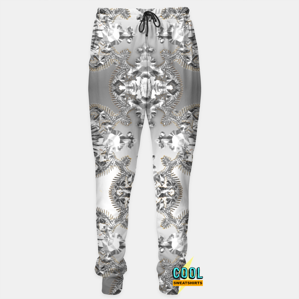 Cool Sweatshirts: Watch The Throne Silver Joggers Kanye Yeezy West Jay-Z Hova