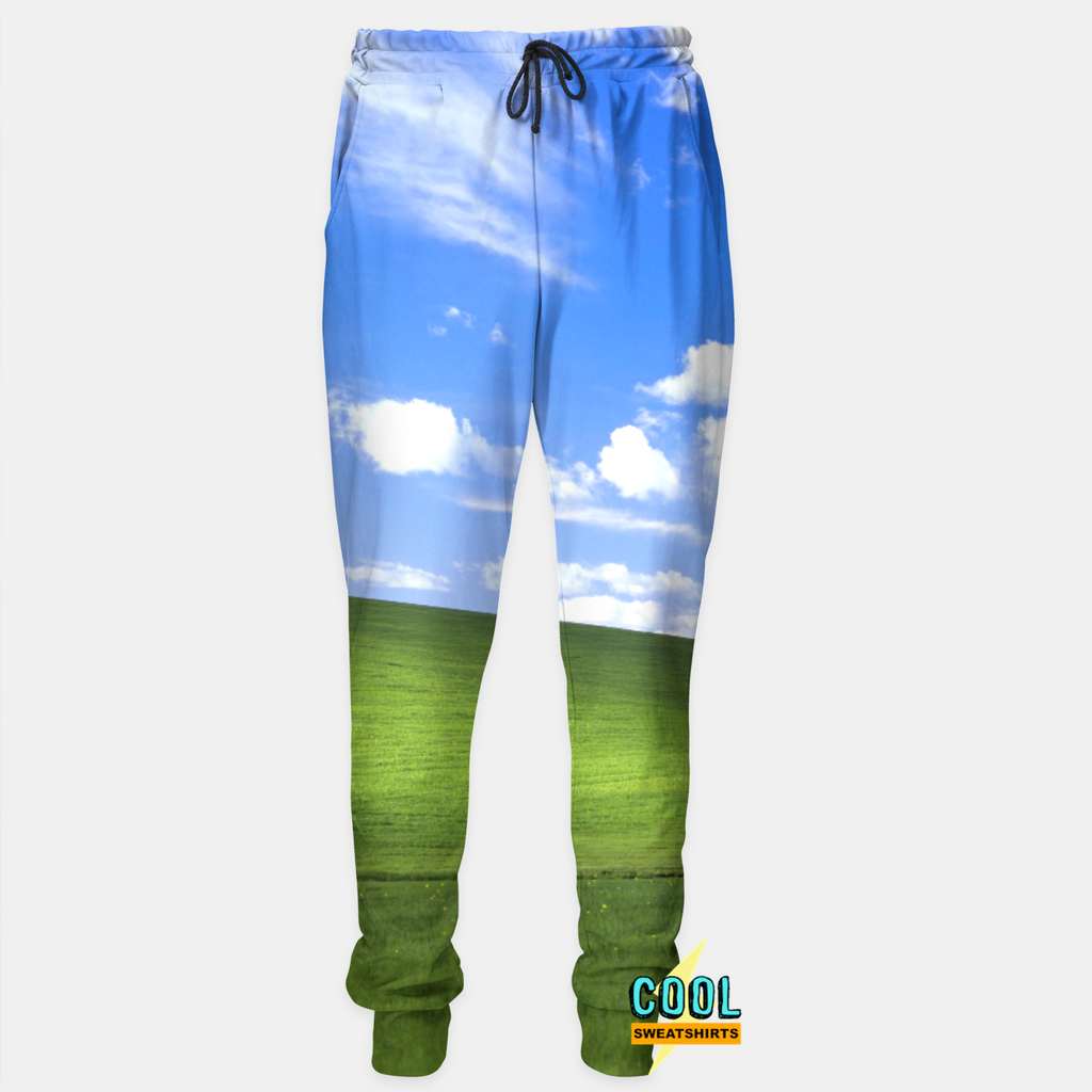 Cool Sweatshirts: Windows 95 Joggers Landscape