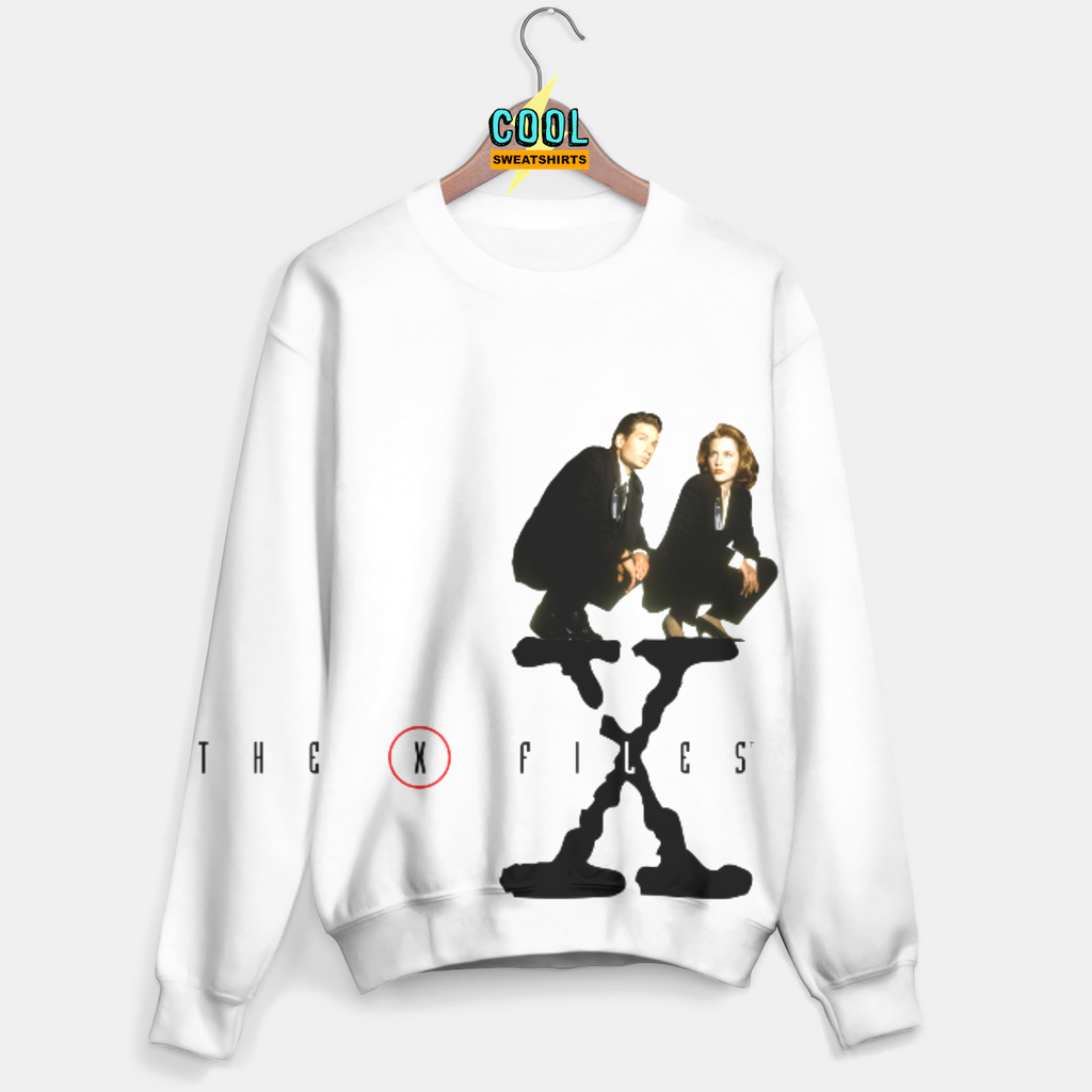Cool Sweatshirts: X-Files Scully & Molder Sweater