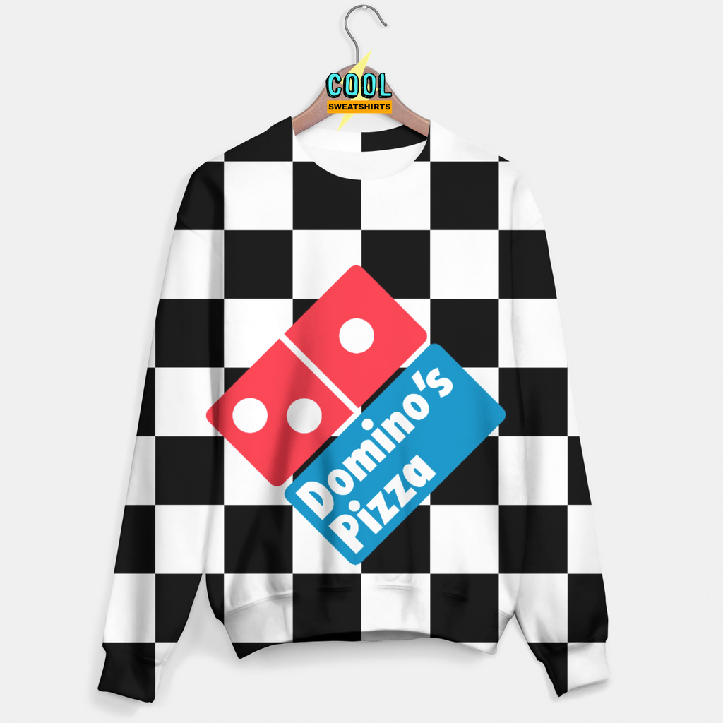 Cool Sweatshirts for men & women: Dominos Pizza, SexySweaters, Sexy Sweaters, EDM, Rave, Ugly Christmas Sweaters, Meme, Mr. Gugu & Miss Go, HypeBeast