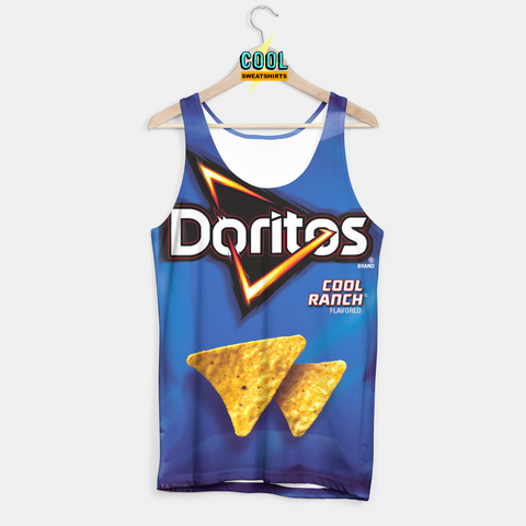 Cool Sweatshirts for men & women: Doritos Cool Ranch Chips Tank, SexySweaters, Sexy Sweaters, EDM, Rave, Ugly Christmas Sweaters, Meme, Mr. Gugu & Miss Go, HypeBeast