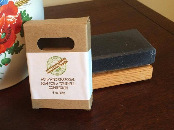 Activated Charcoal Soap for a Youthful Complexion