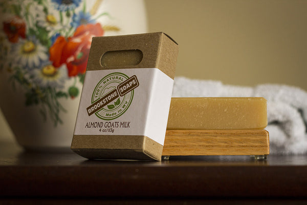 Almond Goats Milk Bar Soap
