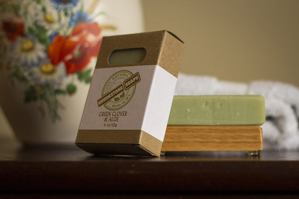 Green Clover & Aloe Bar Soap