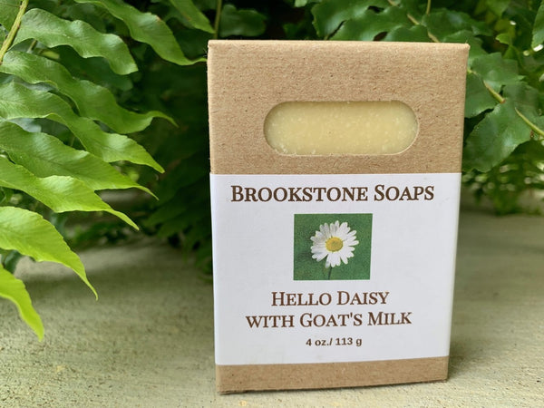 Hello Daisy Goat's Milk Soap