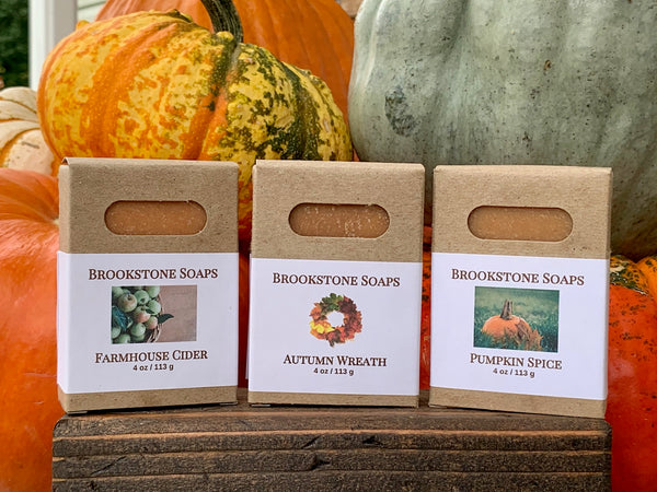 Fall Fragrance Bar Soaps