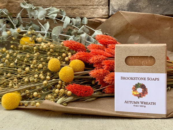 Autumn Wreath Bar Soap