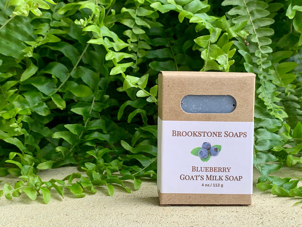 Blueberry Goat's Milk Soap