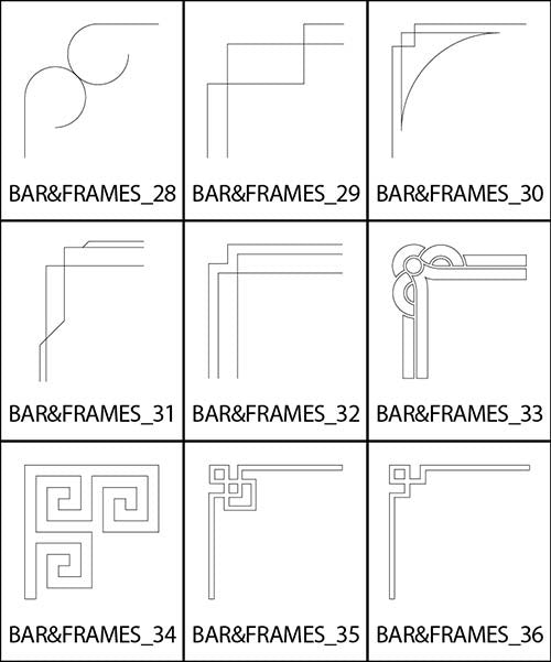 Bars and Frames 4