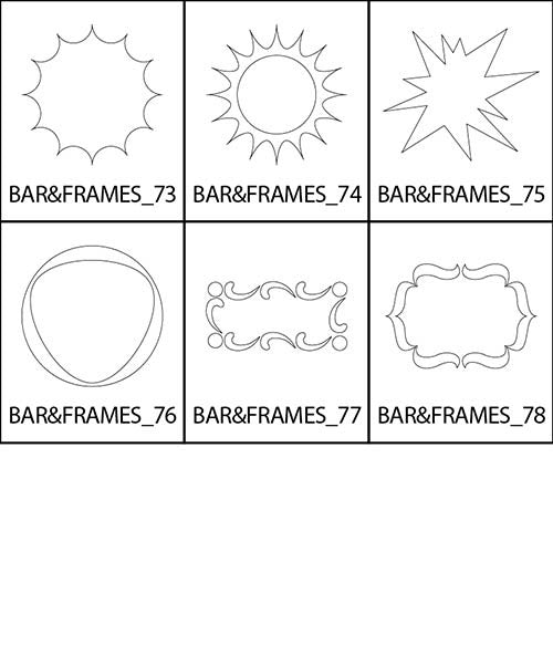 Bars and Frames 9