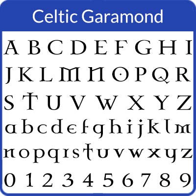 Celtic Garamond