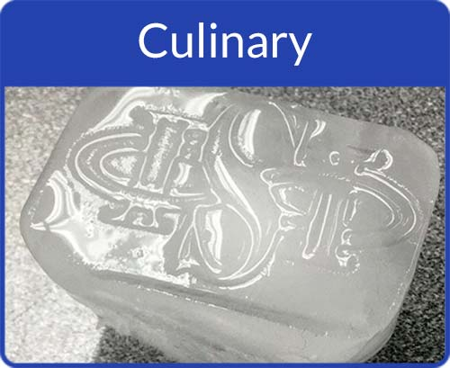 Stamped Culinary Items Photo Gallery