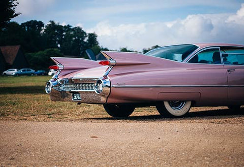 Classic Pink Cadillac