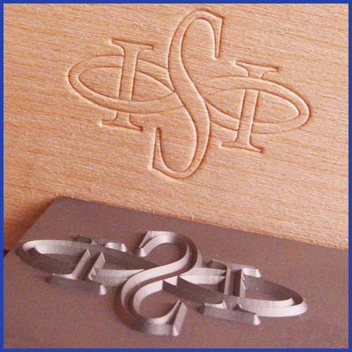 ISI Logo Stamped Into Wood