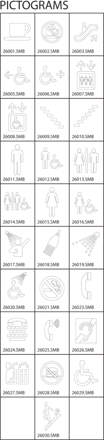Pictograms Clip-Art Gallery Chart