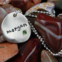 Photo of Stamped Metal Jewelry from Joseph Allen Designs