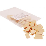 Bag of 14k Gold Plated Jewelry Tags in style C