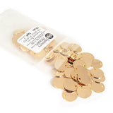 Bag of 14k Gold Plated Jewelry Tags in style I
