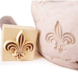 Custom Precious Metal Clay Stamp and imprint