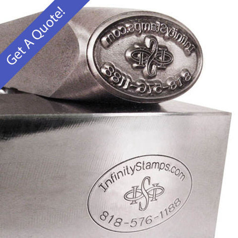 Custom Steel Hand Stamp for Metals