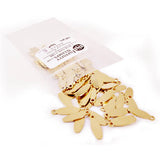 Bag of Brass Jewelry Tags in style E