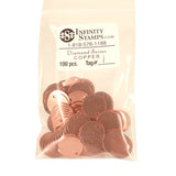 Copper Jewelry Tag I - 100 Pack