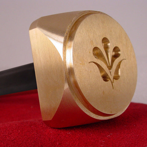 Individual Custom Handheld Brass Clay Stamp
