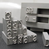 Custom Number Steel Type
