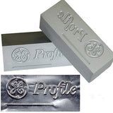 Embossing Dies Set and marked metal
