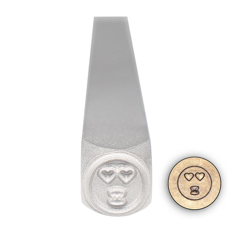 Design Stamp - Love Face Emoji - Design 57
